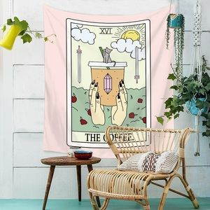 Urban Outfitters Tarot The Coffee Tapestry